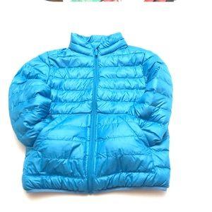 Uniqlo Blue Puffer jacket